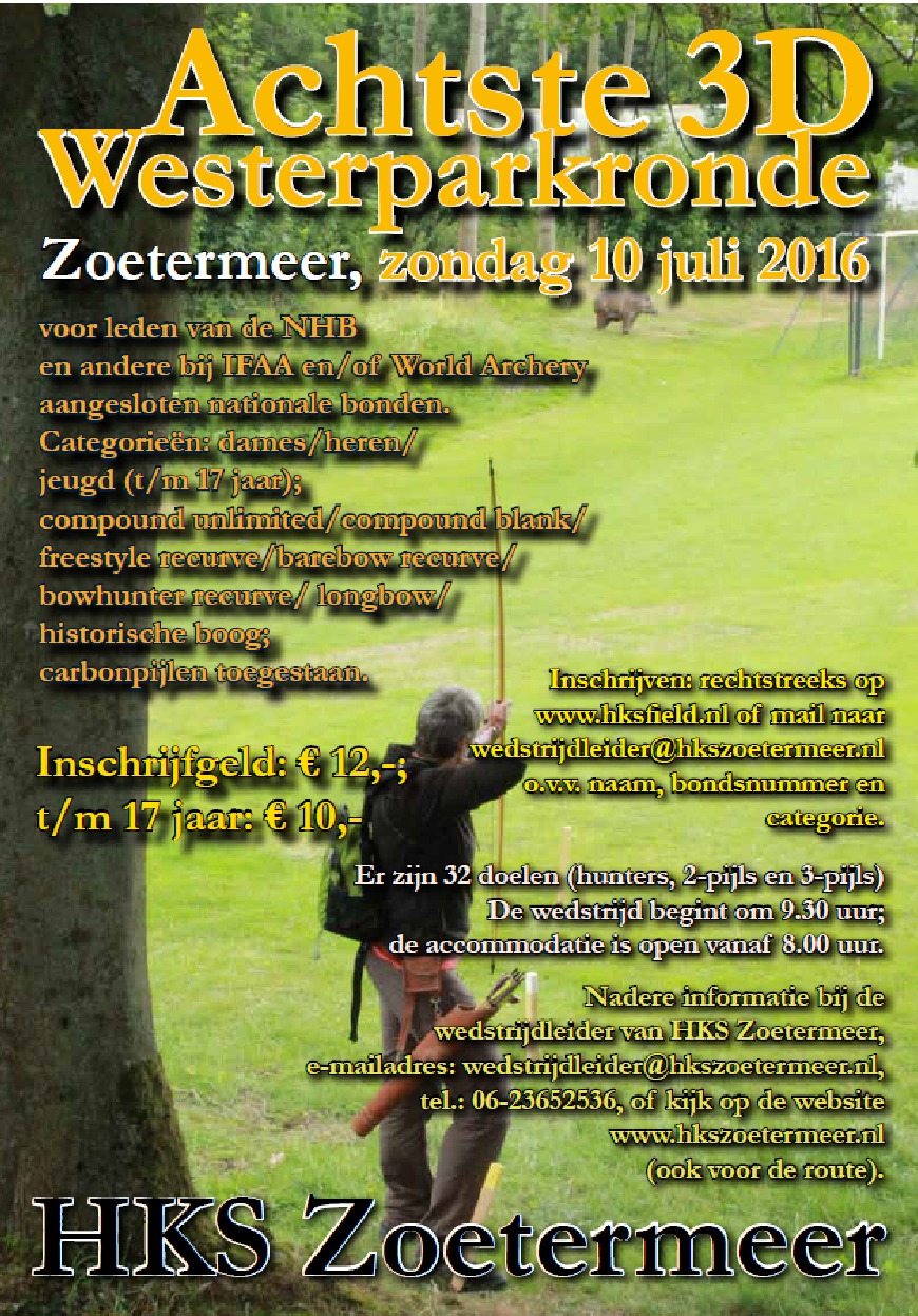 Westerpark 3D @ HKS Zoetermeer | Zoetermeer | Zuid-Holland | Nederland