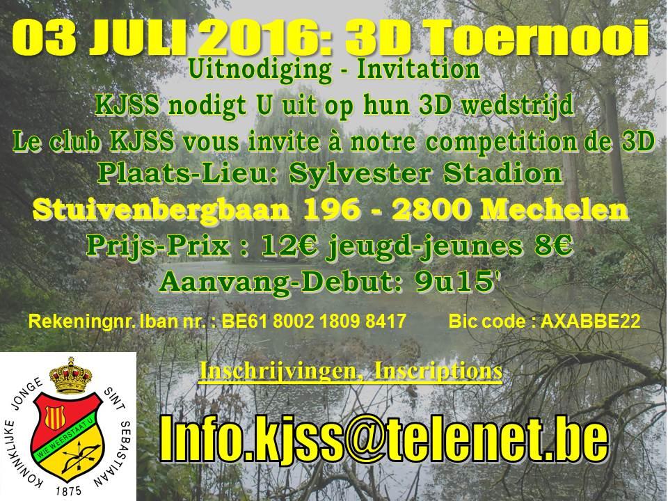 3D KJSS Mechelen @ Mechelen | Vlaanderen | België
