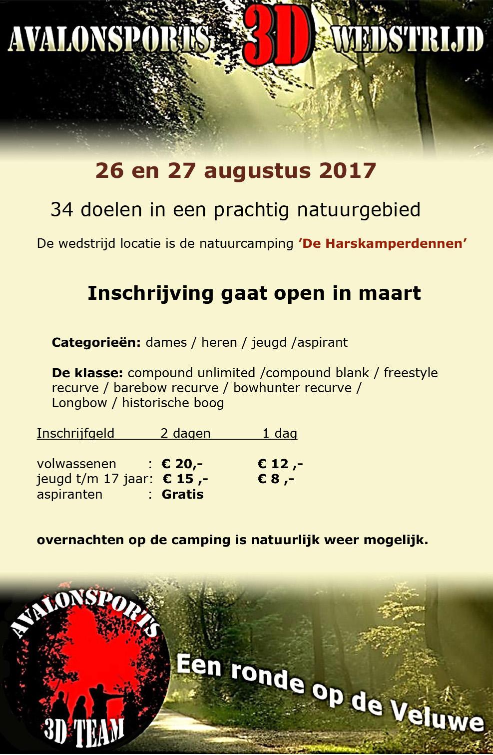 3D Avalon Sports @  Natuurcamping `De Harskamperdennen` | Kootwijk | Gelderland | Nederland