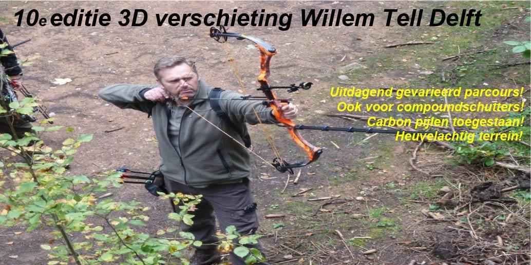 3D Delft Willem Tell @ Delftse Hout | Delft | Zuid-Holland | Nederland