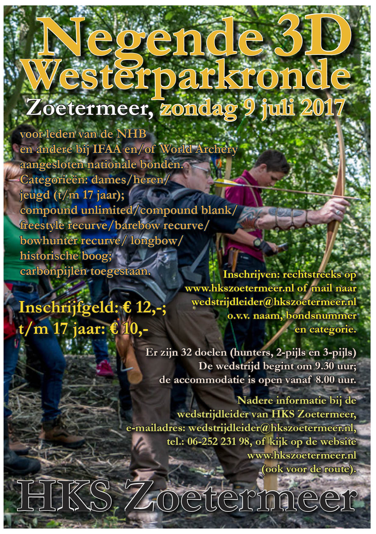 9de Westerparkronde @ HKS | Zoetermeer | Zuid-Holland | Nederland