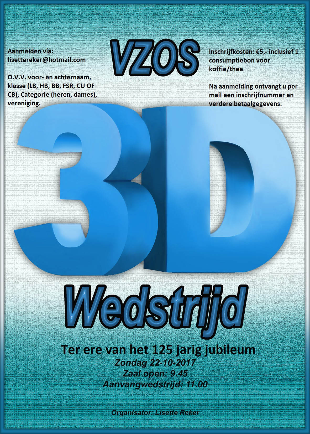 VZOS 3D Wedstrijd @ VZOS | Santpoort-Noord | Noord-Holland | Nederland
