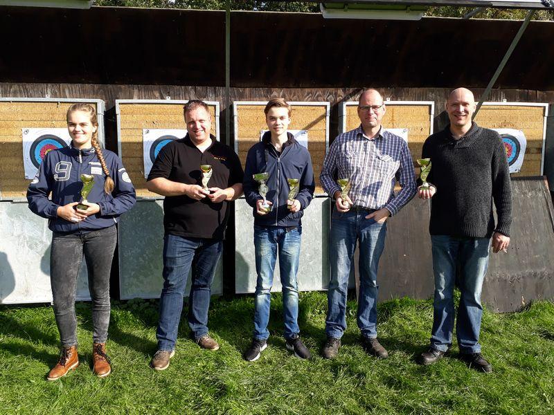 Clubkampioenschappen - Winnaars eerste prijs