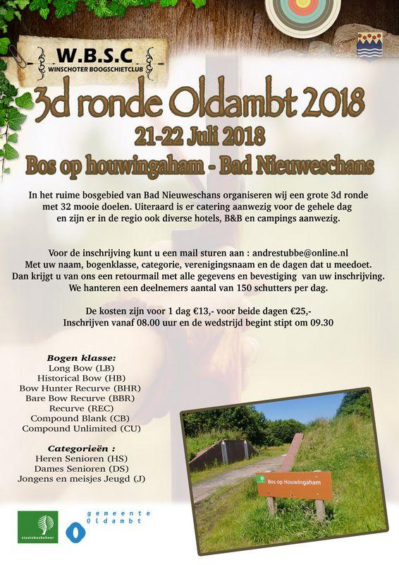 3D Ronde Oldambt @ Bosgebied Bad Nieuweschans | Bad Nieuweschans | Groningen | Nederland