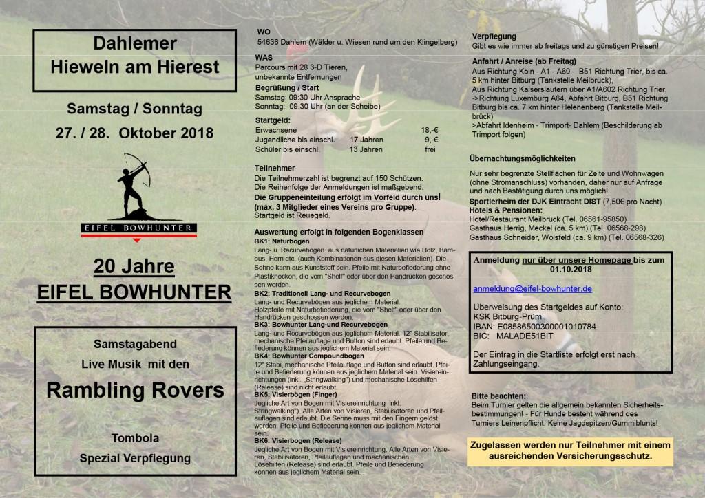 Hierest 3D @ Wälder u. Wiesen rund um den Klingelberg | Dahlem | Rijnland-Palts | Duitsland