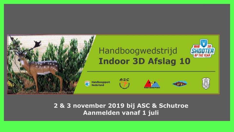 3D Indoor Afslag10 2 en 3 nov 2019
