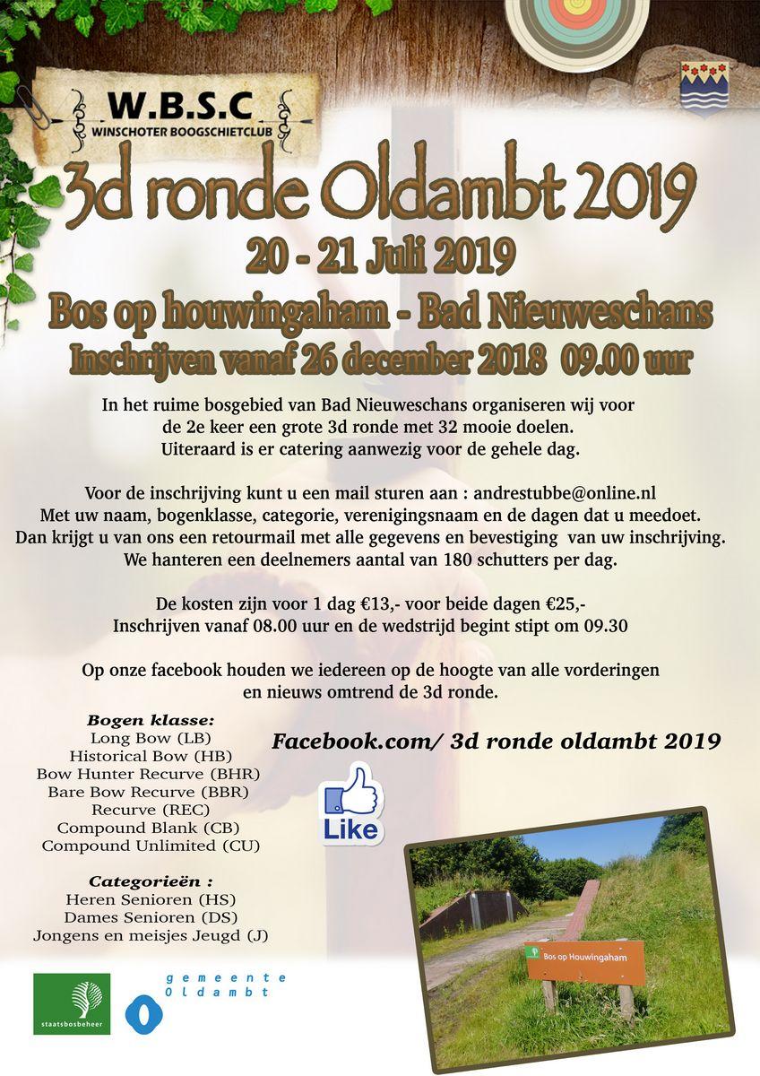 3D Ronde Oldambt @ Bos op Houwingaham