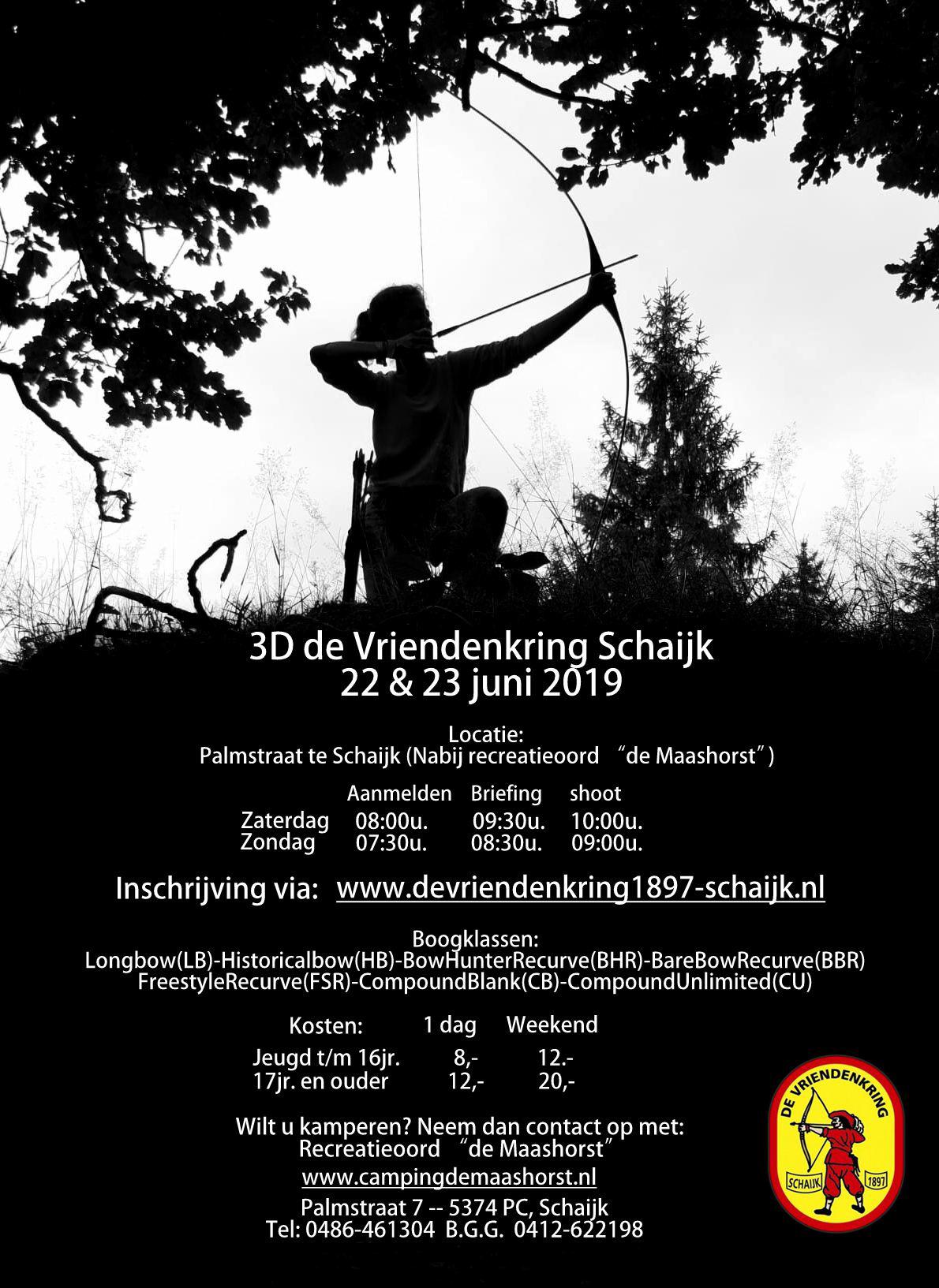 """3D de Vriendenkring Schaijk @ Nabij recreatieoord """"de Maashorst"""""""