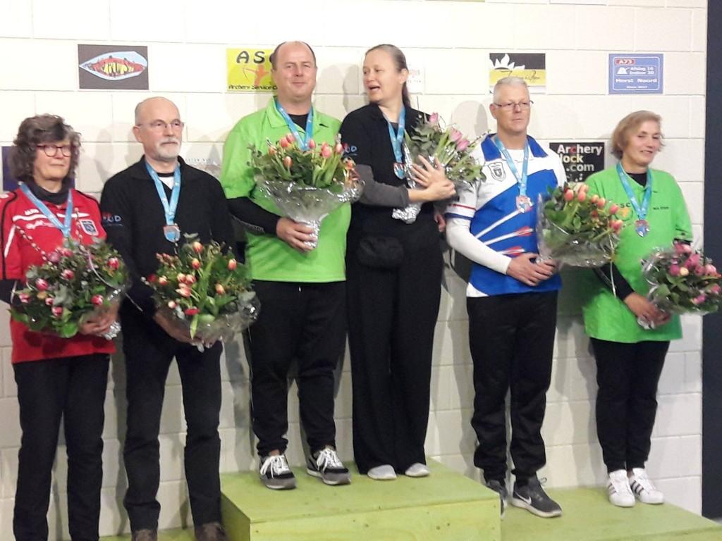 Winnaars podium NKBB