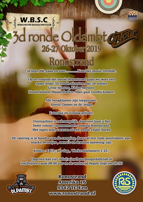 3D Ronde Oldambt On Tour Ronostrand @ Ronostrand