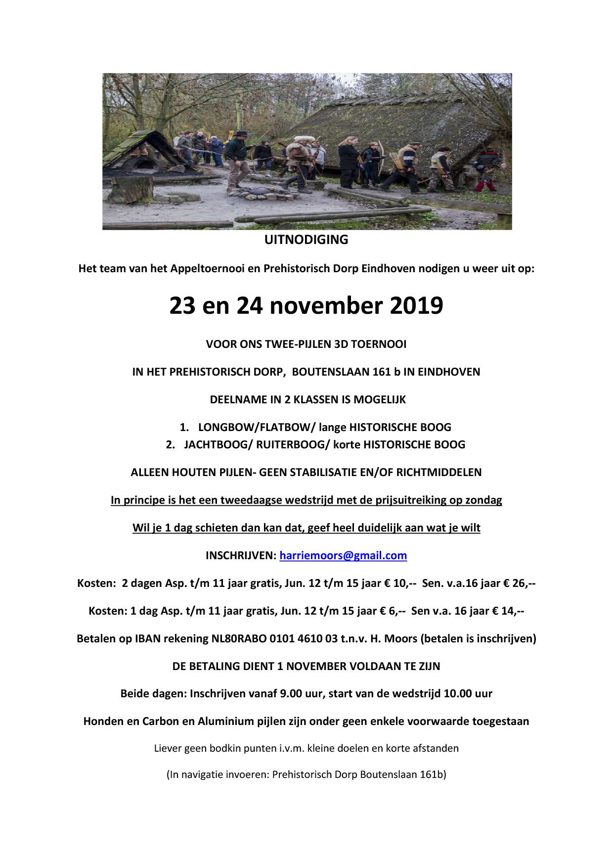 3D november 2019 prehistorisch dorp