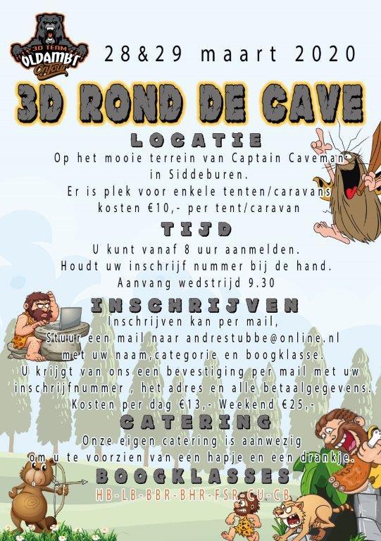 3D Rond De Cave