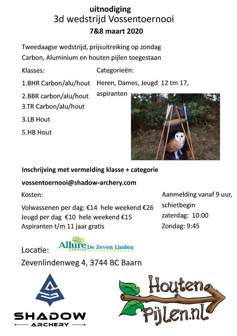 3D Vossentoernooi @ Camping de Zeven Linden