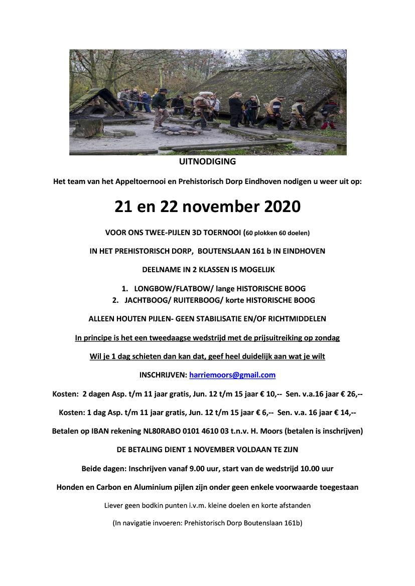 3D november 2020 prehistorisch dorp
