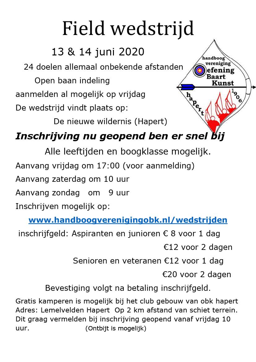 Field OBK Hapert @ De Nieuwe Wildernis