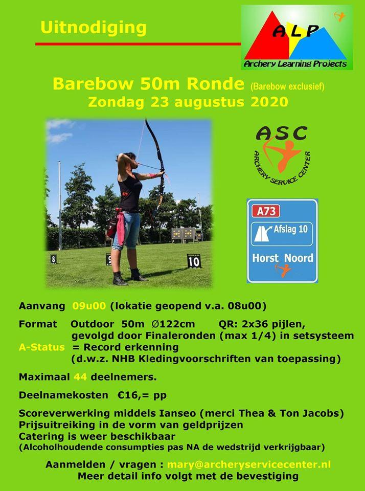 Barebow 50 m ronde