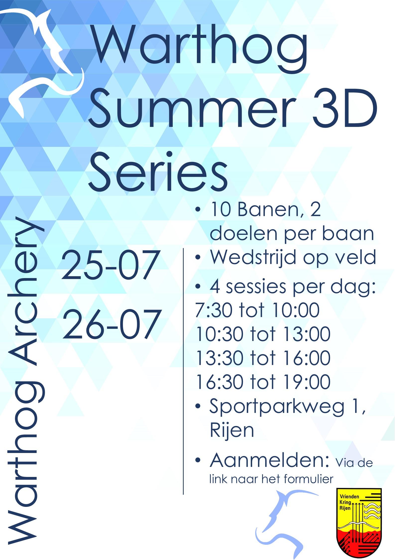 Summer 3D Series