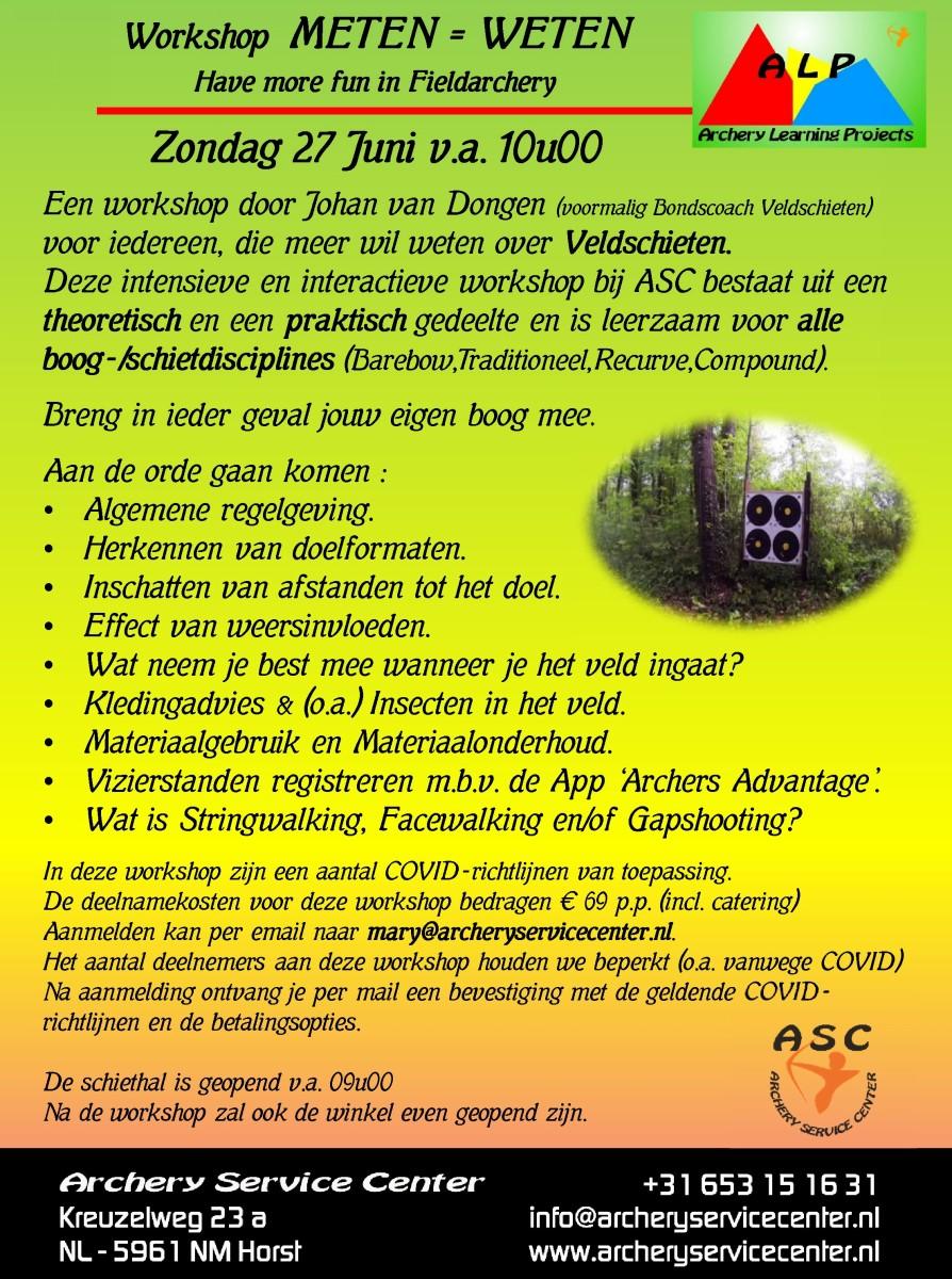 METEN = WETEN Workshop ASC @ ASC