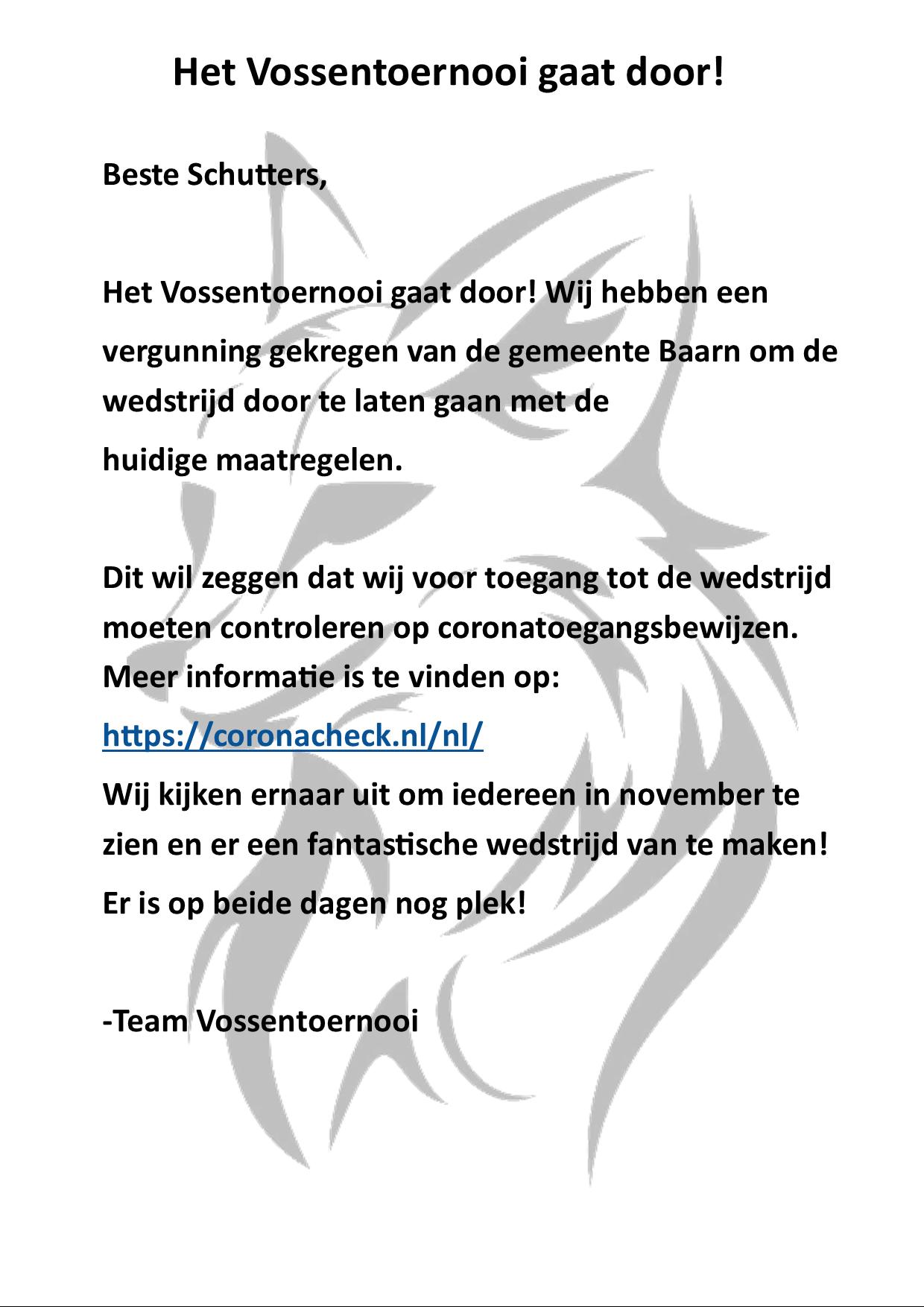 Vossentoernooi @ De Zeven Linden